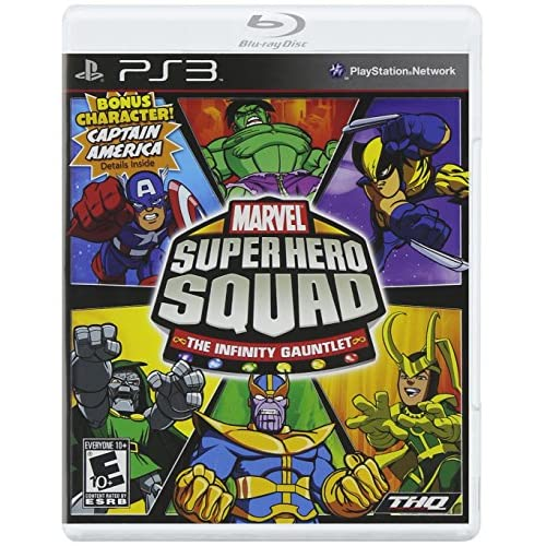 Marvel Super Hero Squad: The Infinity Gauntlet For PlayStation 3 PS3 Fighting