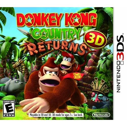 Donkey Kong Country Returns 3D For 3DS