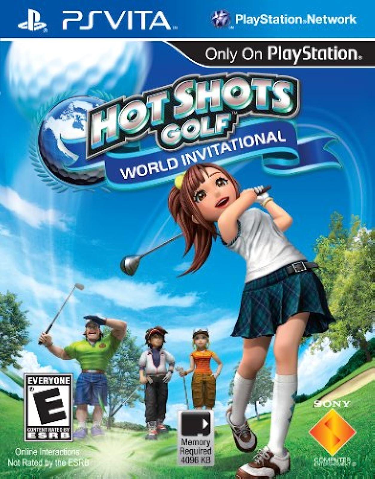 Hot Shots Golf: World Invitational For Ps Vita