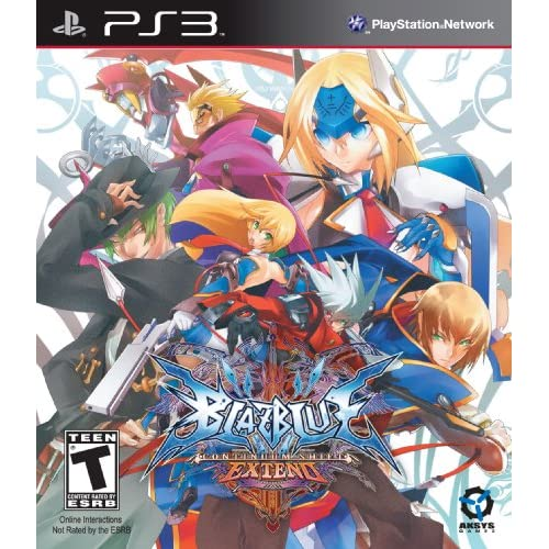 Blazblue: Continuum Shift Extend Standard Edition For PlayStation 3 PS3 Fighting