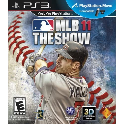 MLB 11: The Show For PlayStation 3 PS3 Baseball