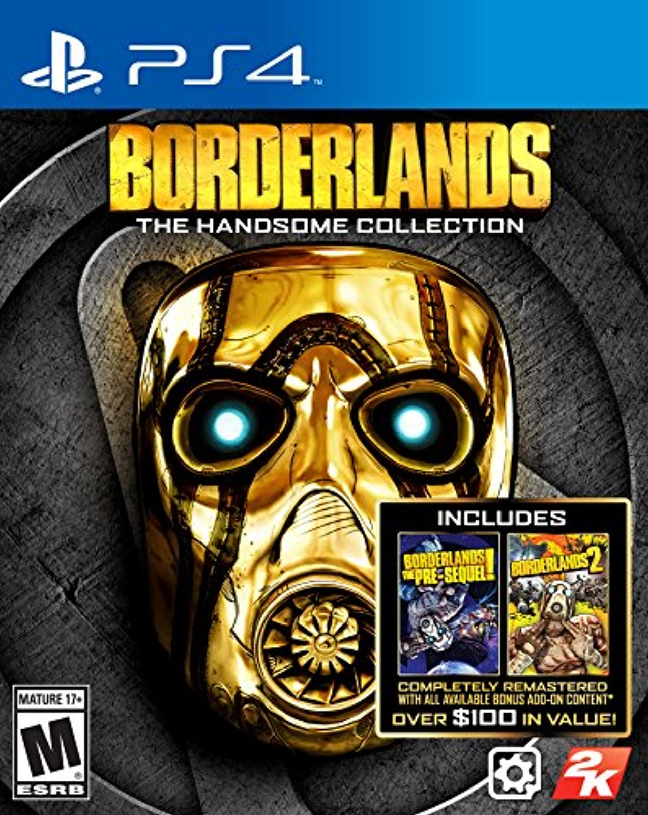 Borderlands: The Handsome Collection By 2K Games For PlayStation 4 PS4 Shooter P