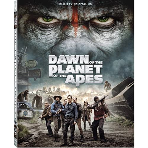 Dawn Of The Planet Of The Apes On Blu-Ray With Gary Oldman