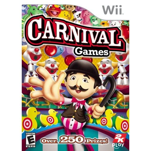 Carnival Games For Wii And Wii U