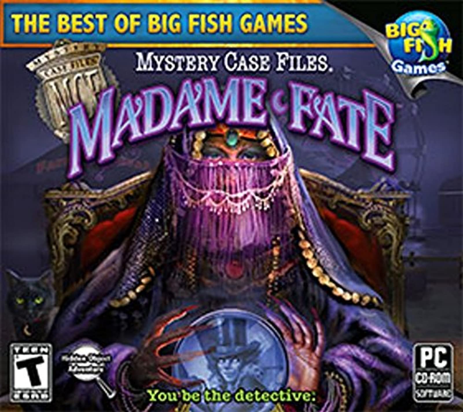 Big Fish Games Mystery Case Files: Madame Fate Software