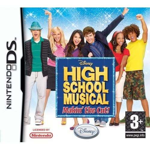High School Musical: Makin' The Cut By Disney For Nintendo DS DSi 3DS