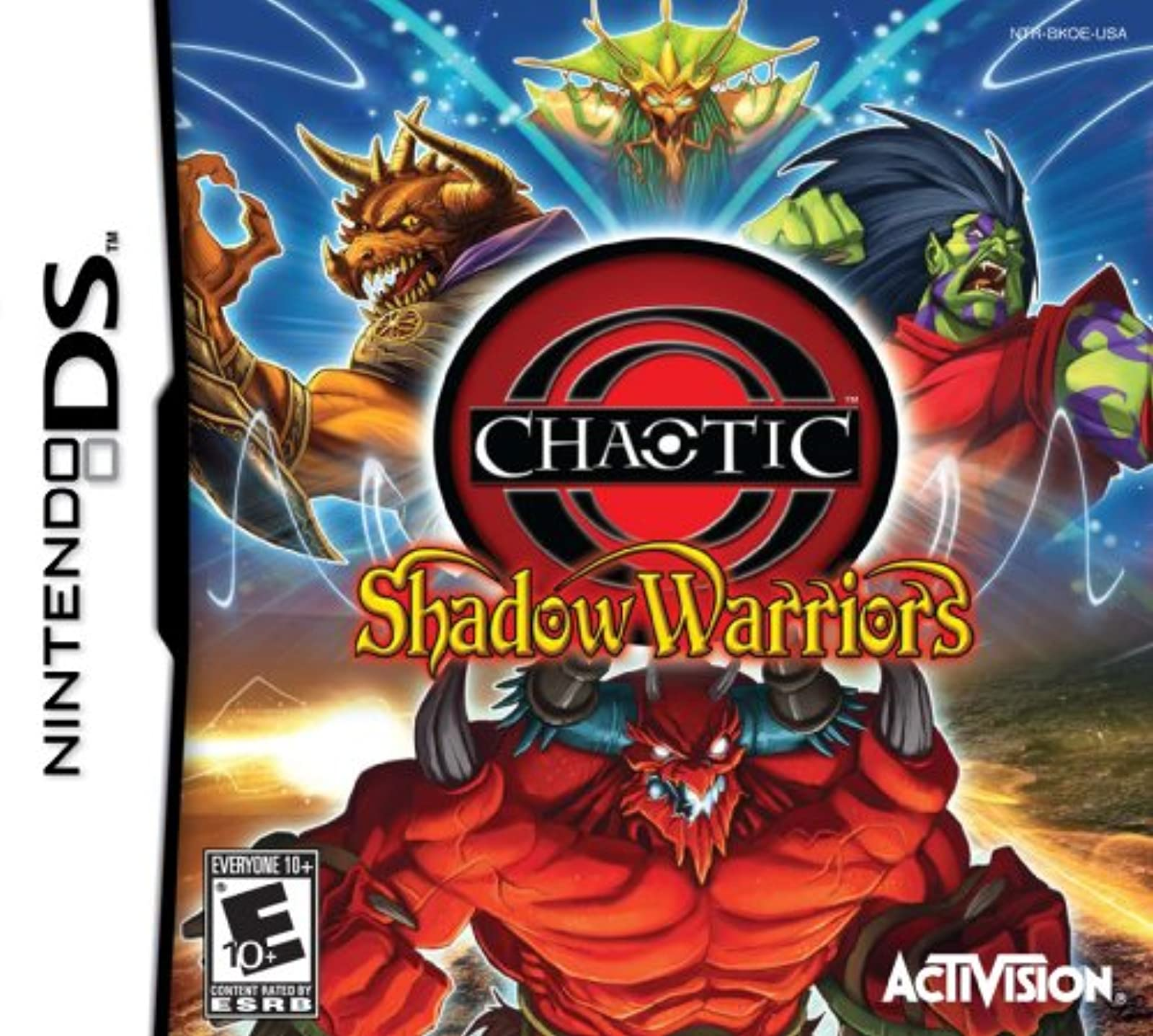 Chaotic: Shadow Warriors For Nintendo DS DSi 3DS 2DS Strategy