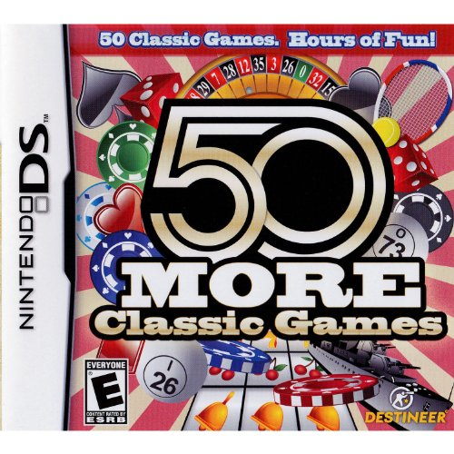 50 More Classic Games For Nintendo DS DSi 3DS 2DS