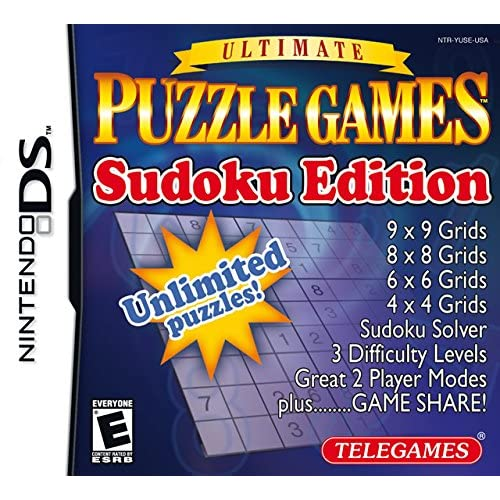 Puzzle Games Sudoku Edition For Nintendo DS DSi 3DS