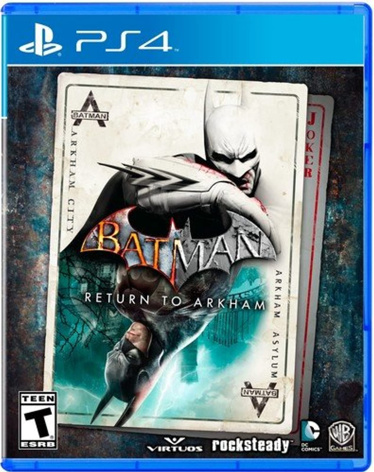 Batman: Return To Arkham Standard Edition For PlayStation 4 PS4 PS5