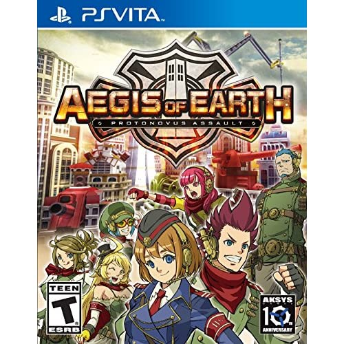Aegis Of Earth: Protonovus Assault PlayStation Vita For Ps Vita RPG