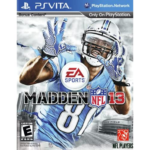 Madden NFL 13 PlayStation Vita For Ps Vita Football