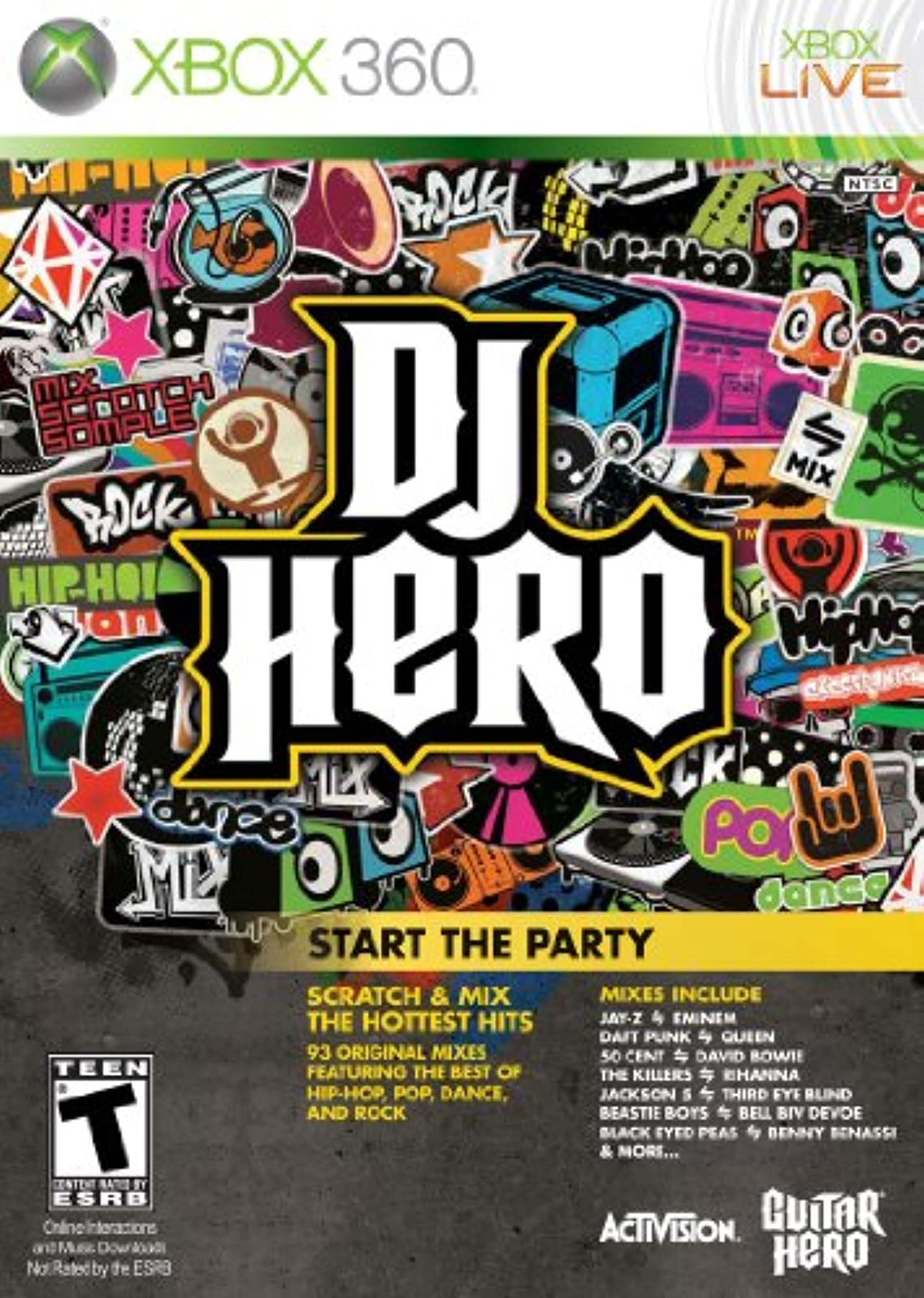 DJ Hero Stand Alone Software For Xbox 360 Music