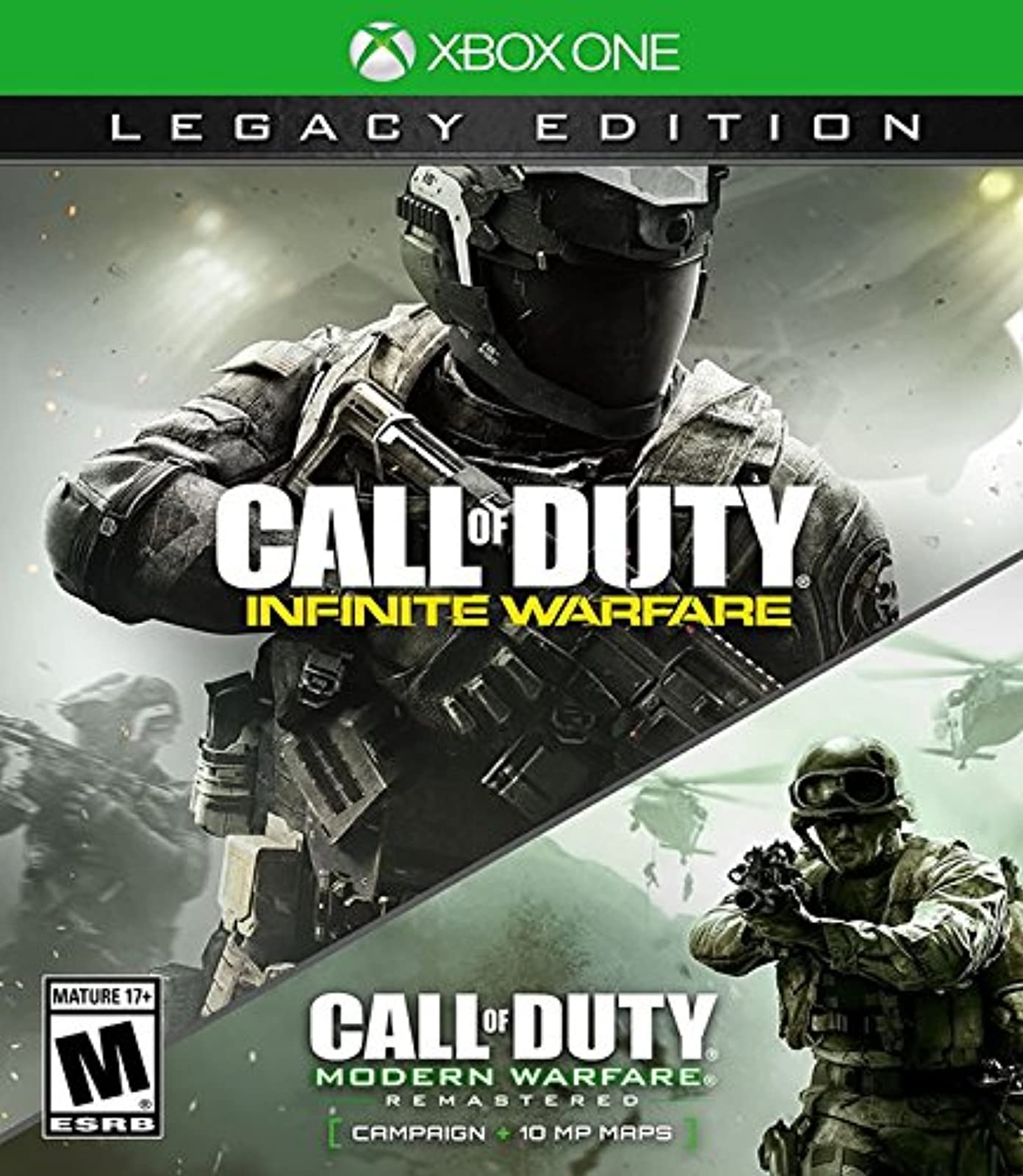 Call Of Duty: Infinite Warfare Legacy Edition For Xbox One COD Shooter