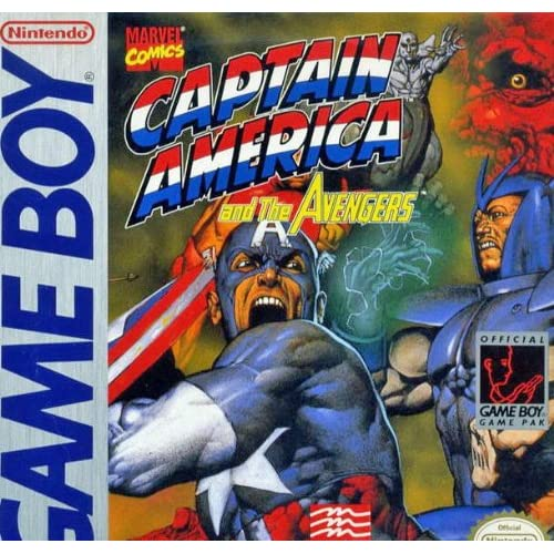 Captain America And The Avengers On Gameboy