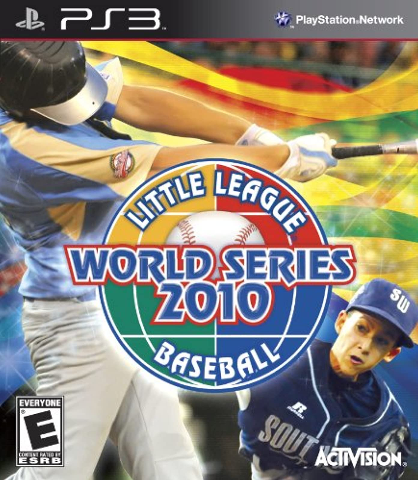 Little League World Series 2010 For PlayStation 3 PS3 Baseball