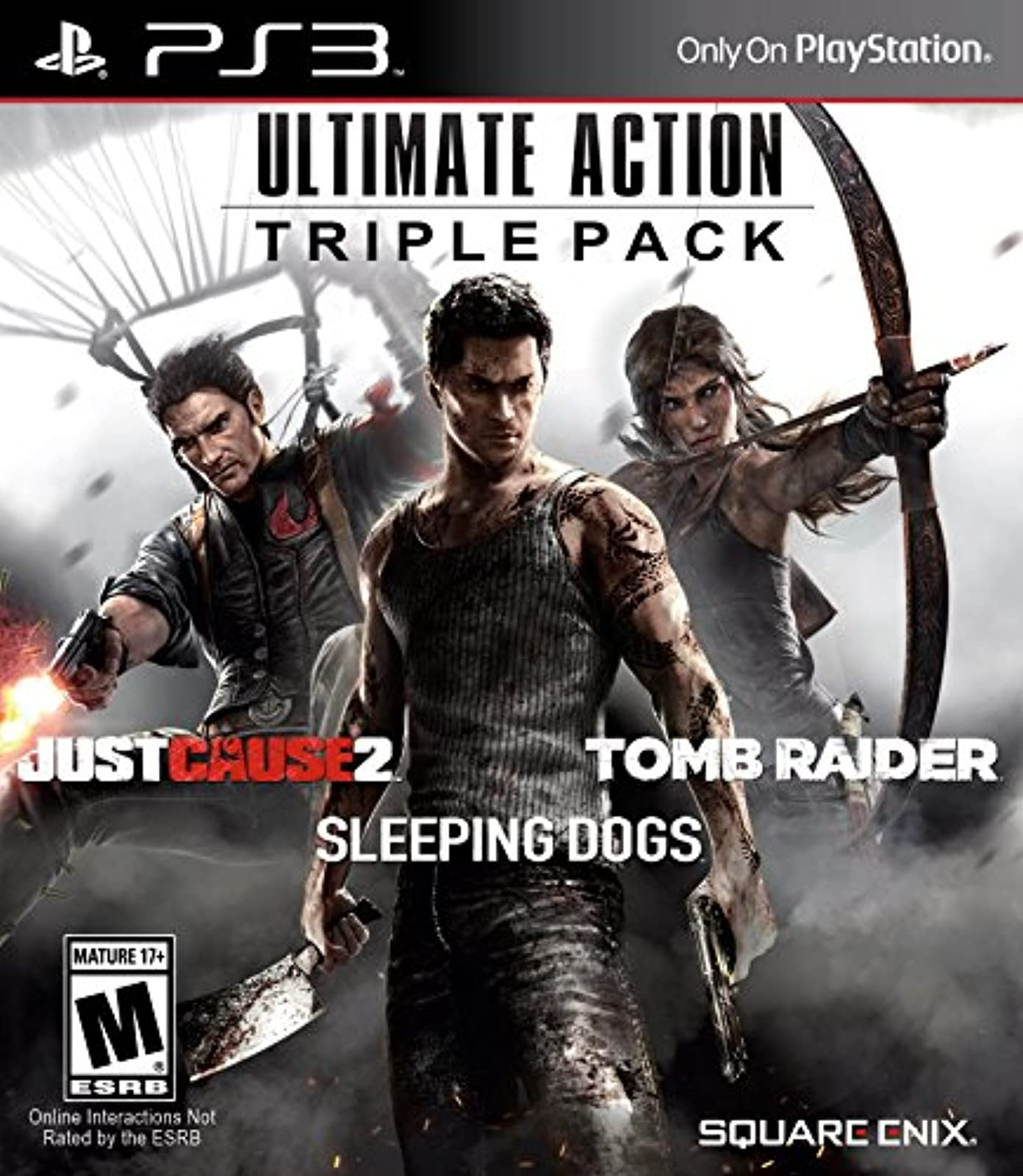 Ultimate Action Triple Pack For PlayStation 3 PS3