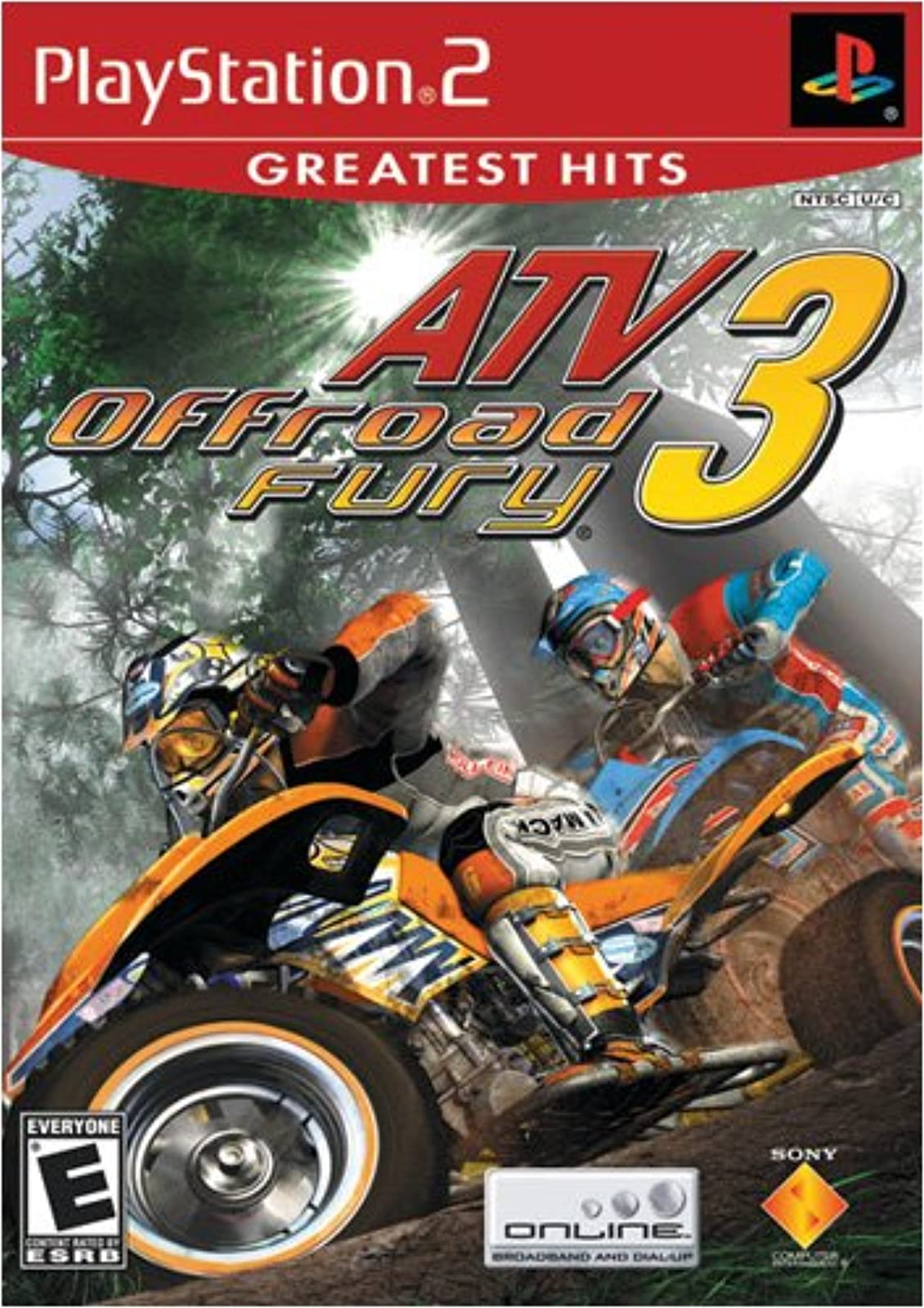 ATV Offroad Fury 3 For PlayStation 2 PS2 Racing