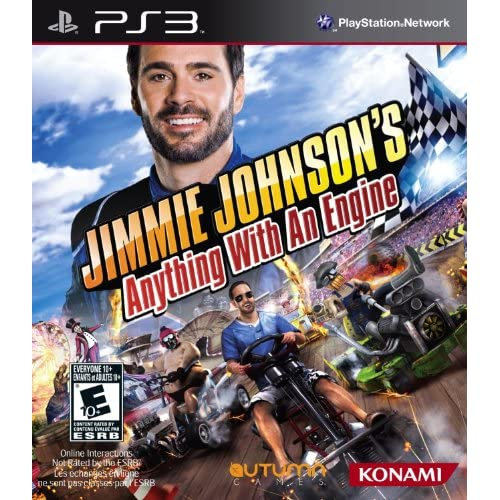 Image 0 of Jimmie Johnson's Anything With An Engine For PlayStation 3 PS3 Flight