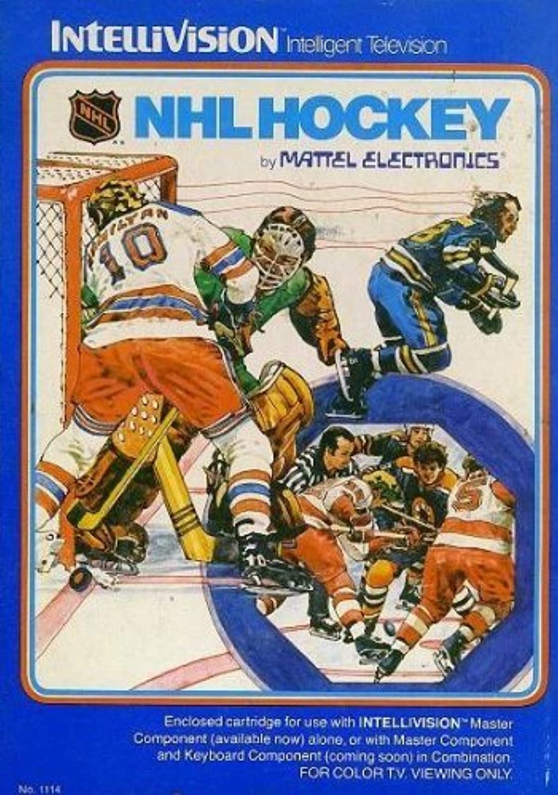 NHL Hockey For Intellivision