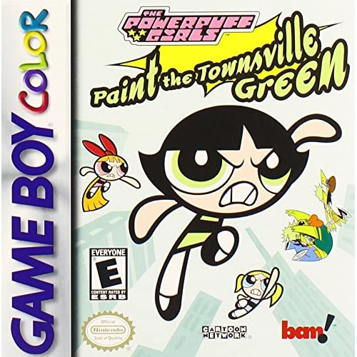 Powerpuff Girls: Paint The Townsville Green On Gameboy Color