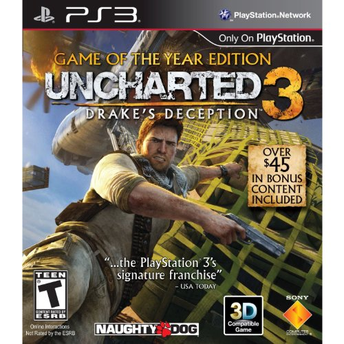 Uncharted 3: Drake's Deception Game Of The Year Edition For PlayStation 3 PS3