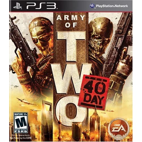 Army Of Two: The 40th Day For PlayStation 3 PS3