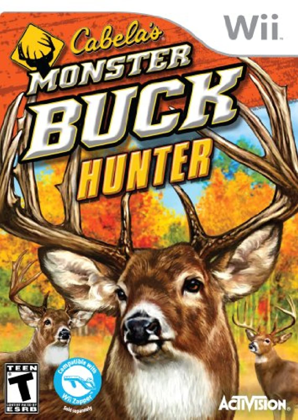 Cabela's Monster Buck Hunter Software Only For Wii And Wii U Shooter