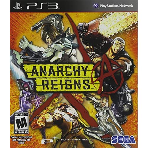 Anarchy Reigns For PlayStation 3 PS3 Shooter