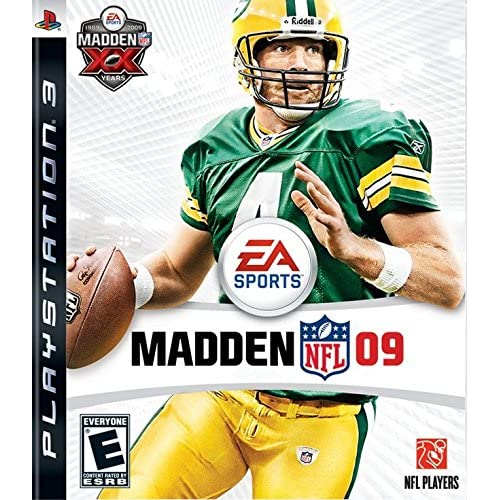 Madden NFL 09 For PlayStation 3 PS3 Football
